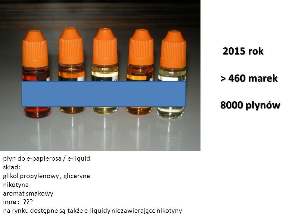 Image 1 of 3 płyn do e-papierosa / e-liquid skład: glikol propylenowy, gliceryna nikotyna aromat smakowy inne ; ??? na rynku dostępne są także e-liqui