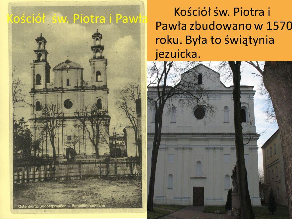 Kościół św. Piotra i Pawła Kościół św. Piotra i Pawła zbudowano w 1570 roku. Była to świątynia jezuicka.