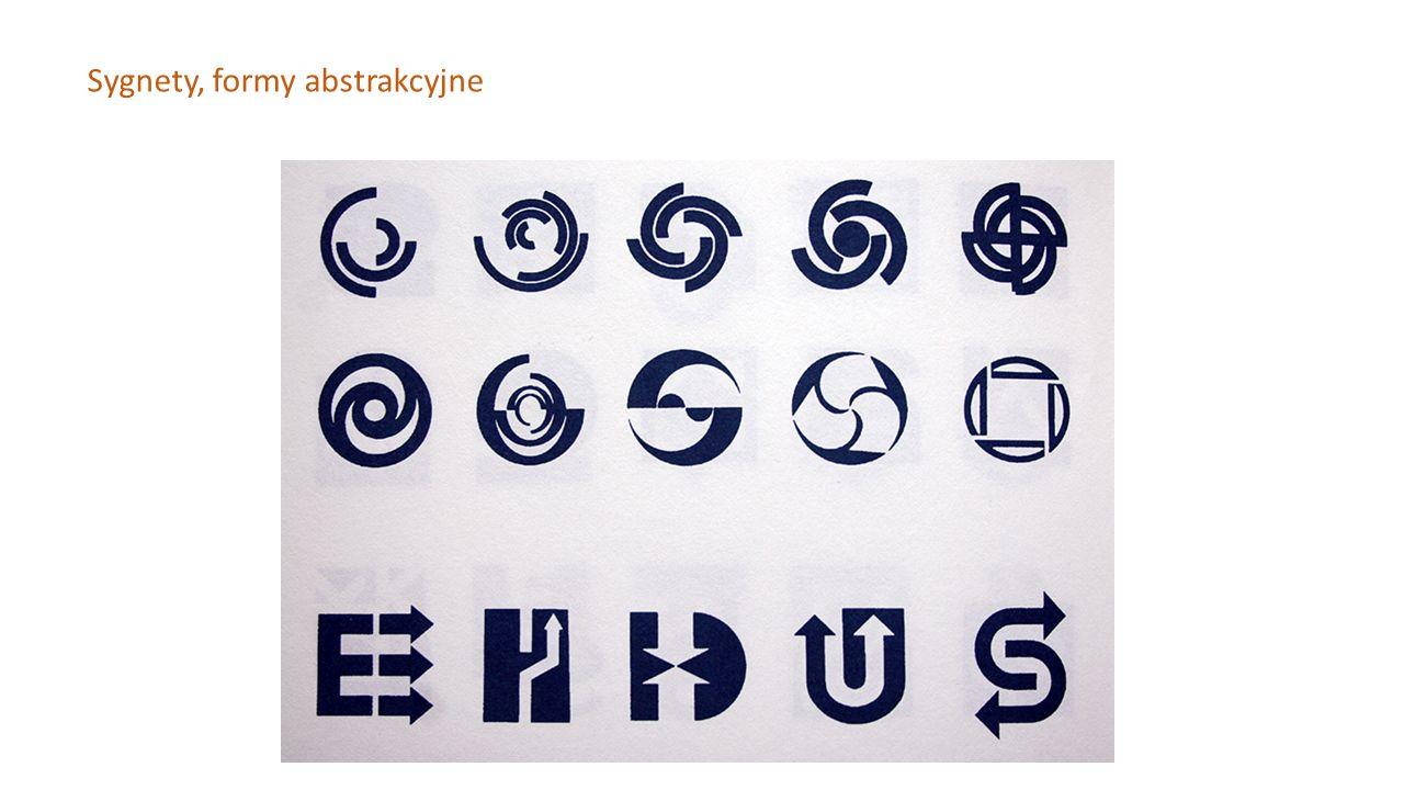 Sygnety, formy abstrakcyjne