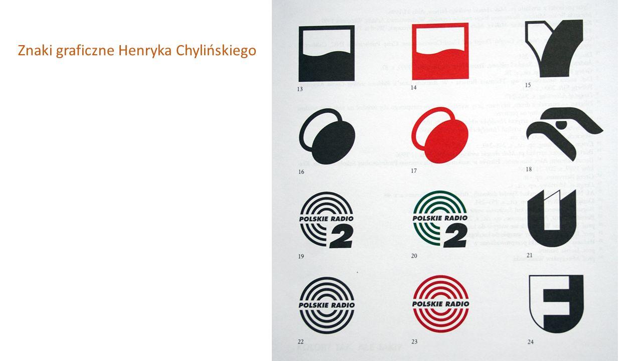 Znaki graficzne Henryka Chylińskiego