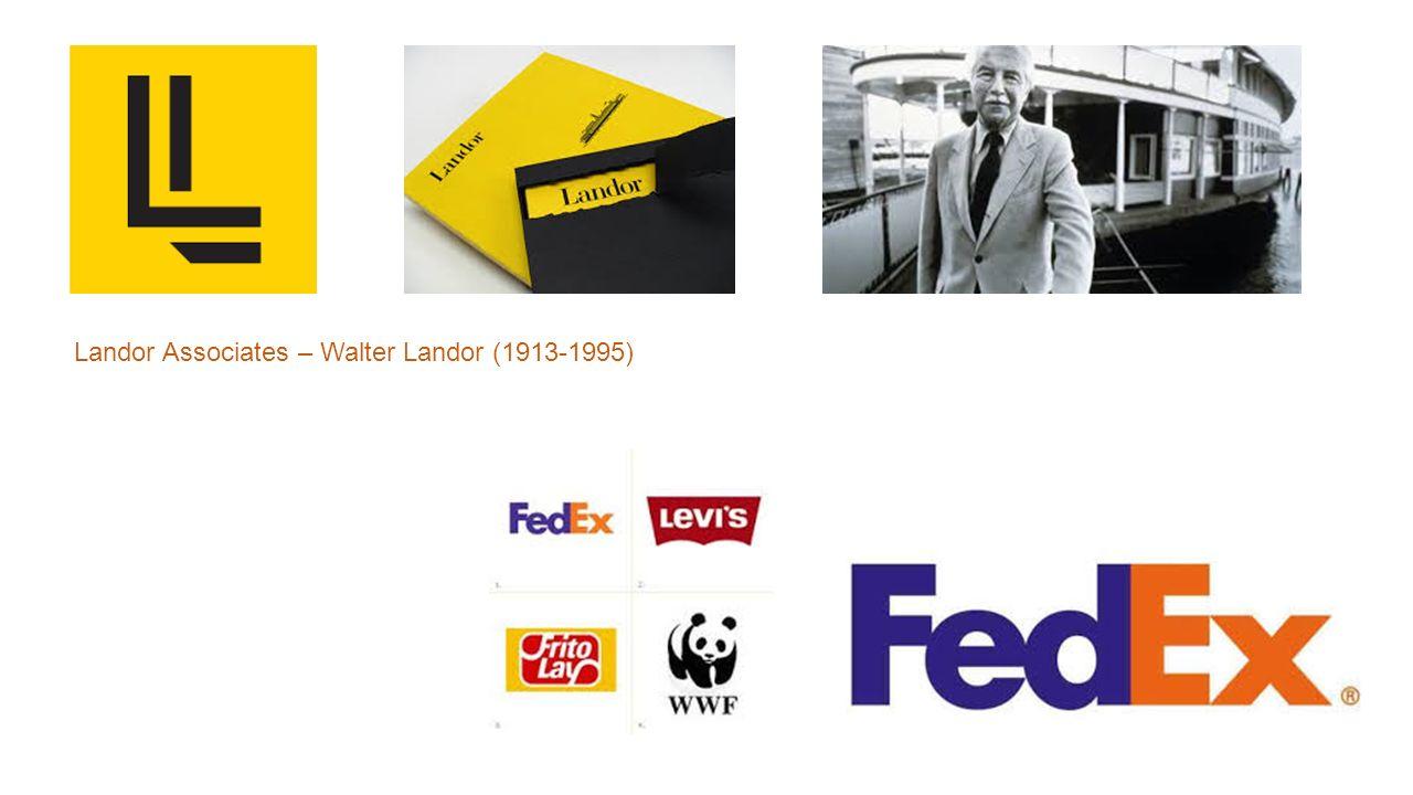 Landor Associates – Walter Landor (1913-1995)