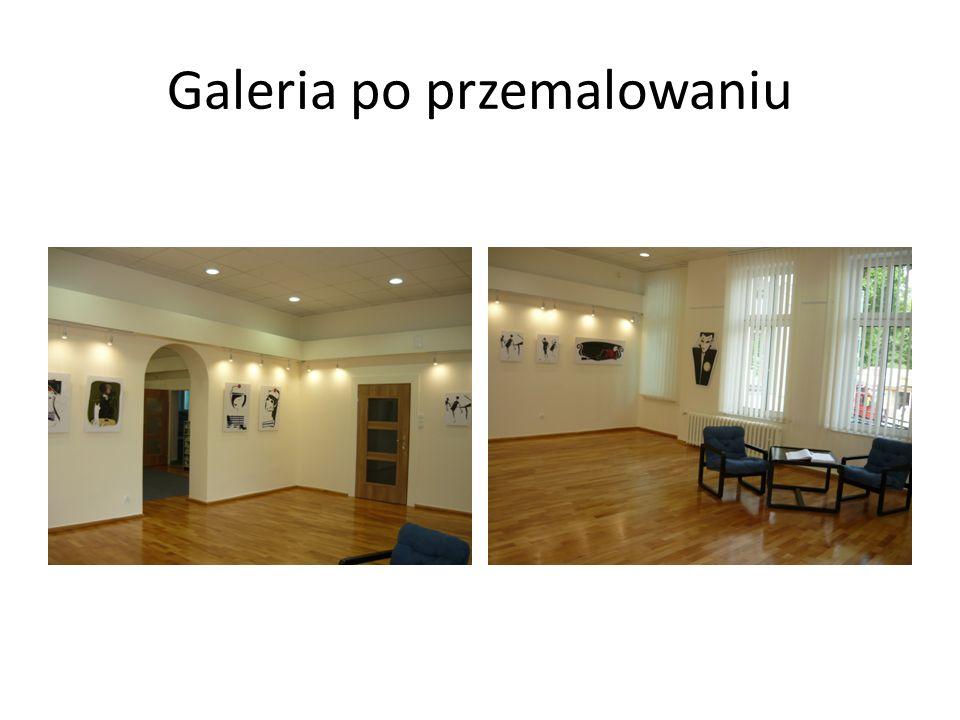 Galeria po przemalowaniu