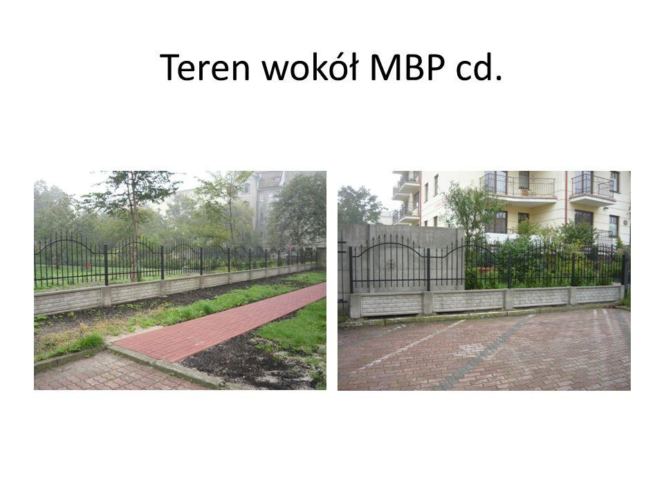 Teren wokół MBP cd.