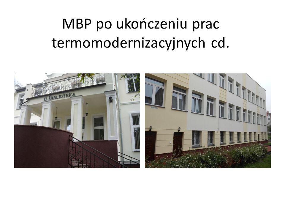 MBP po ukończeniu prac termomodernizacyjnych cd.