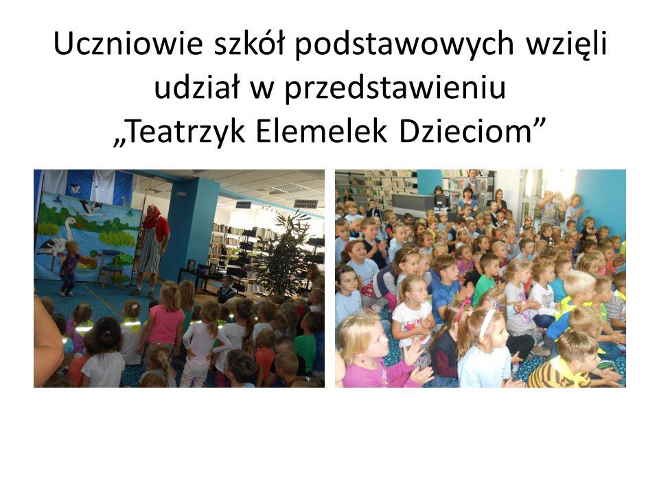 """Uczniowie szkół podstawowych wzięli udział w przedstawieniu """"Teatrzyk Elemelek Dzieciom"""""""