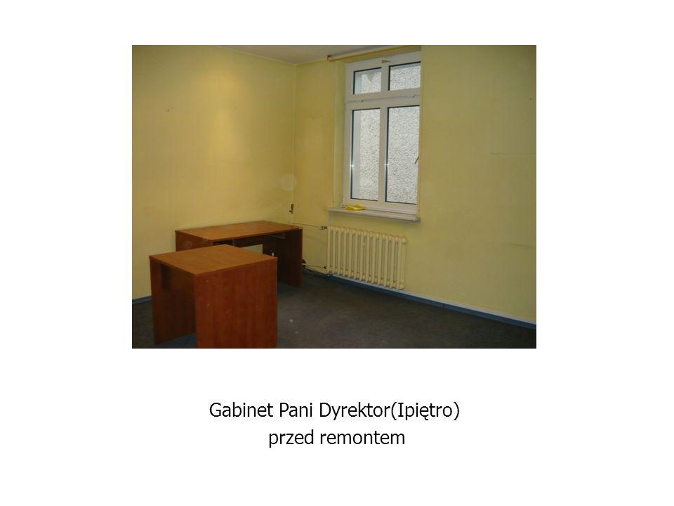 Gabinet Pani Dyrektor(Ipiętro) przed remontem