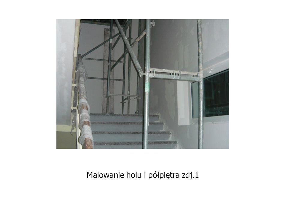 Malowanie holu i półpiętra zdj.1