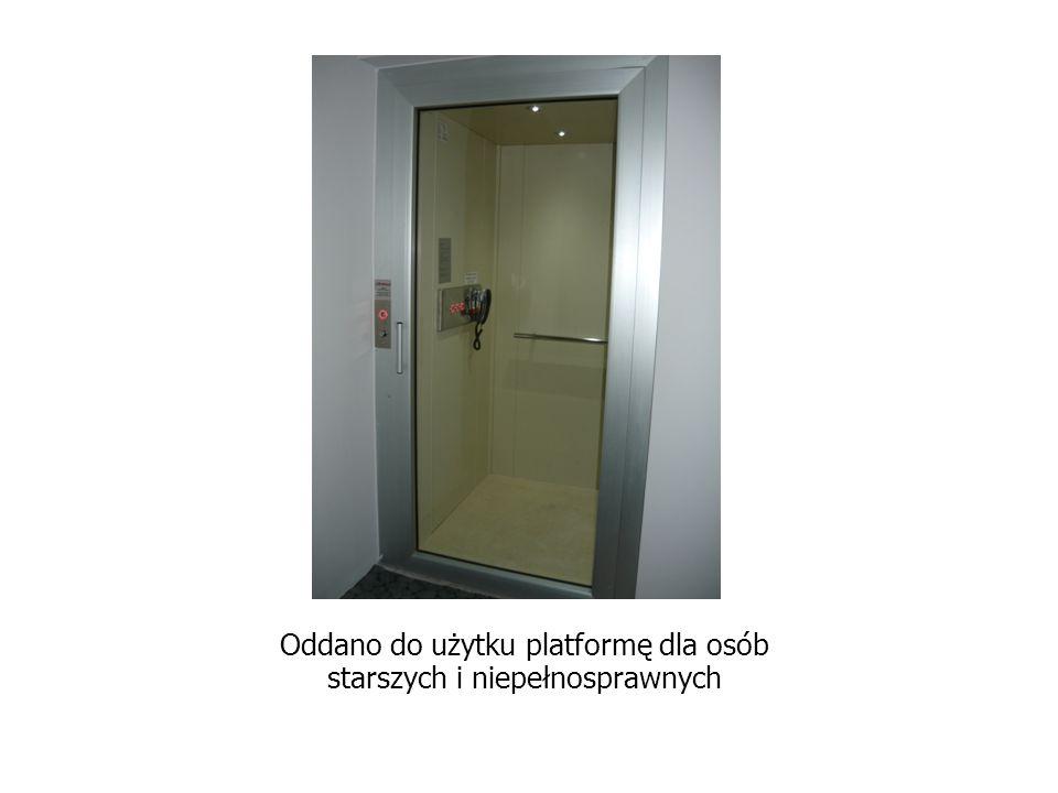 Oddano do użytku platformę dla osób starszych i niepełnosprawnych