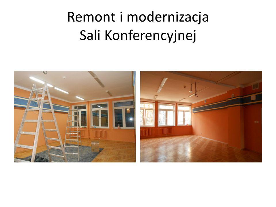 Remont i modernizacja Sali Konferencyjnej
