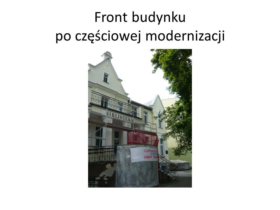 Front budynku po częściowej modernizacji