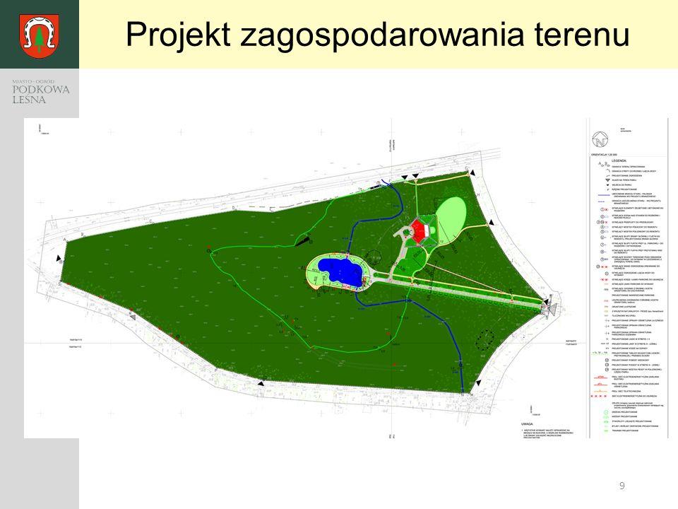 9 Projekt zagospodarowania terenu