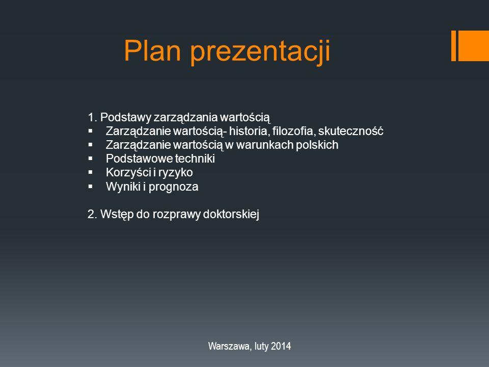 Plan prezentacji 1.