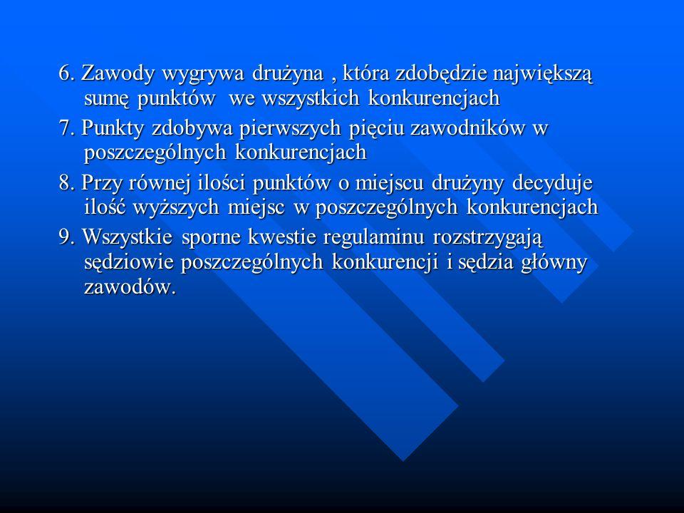Jazda na rowerze 1.Stawicki Piotr – MOW Rzepczyno 2.