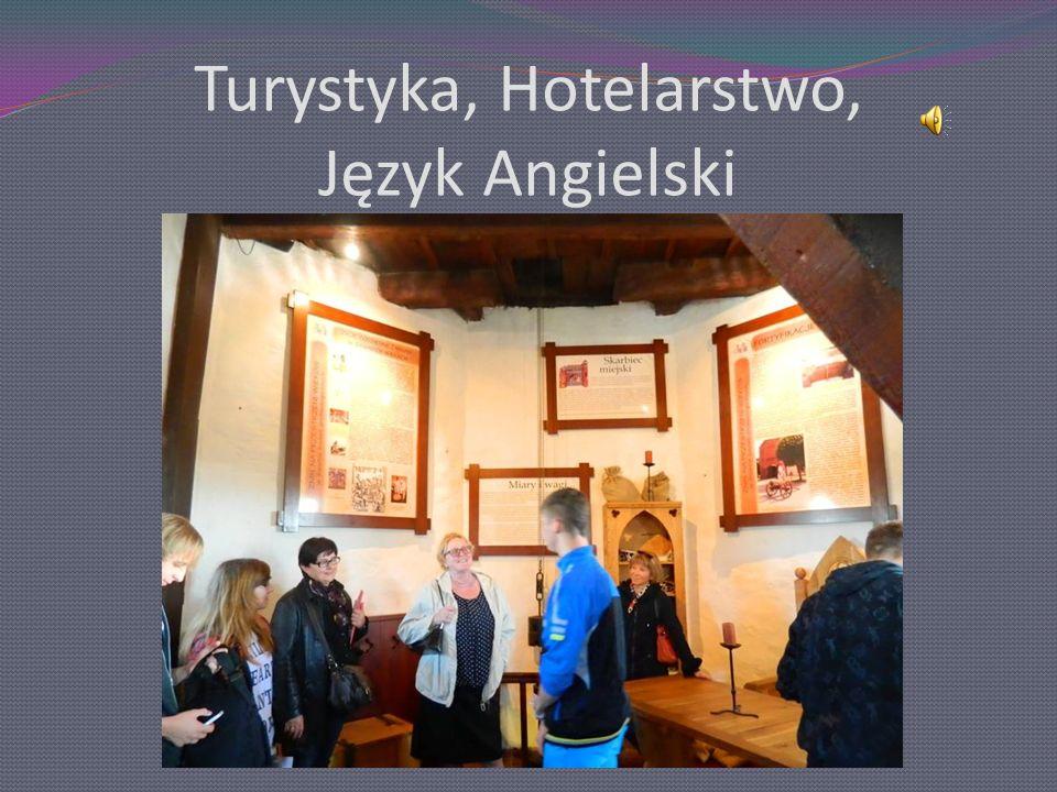 Turystyka, Hotelarstwo, Język Angielski