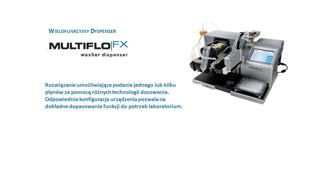 W IELOFUNKCYJNY D YSPENSER Rozwiązanie umożliwiające podanie jednego lub kilku płynów za pomocą różnych technologii dozowania.