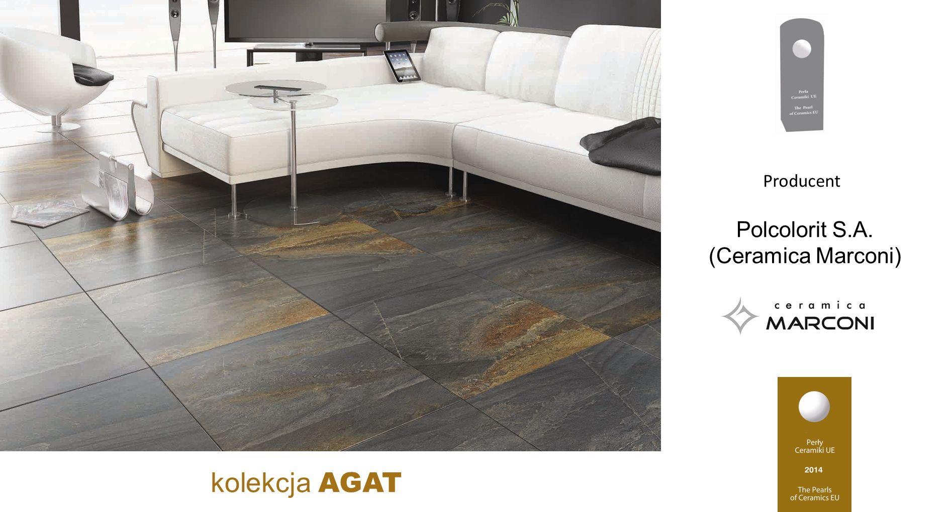 Polcolorit S.A. (Ceramica Marconi) kolekcja AGAT Producent