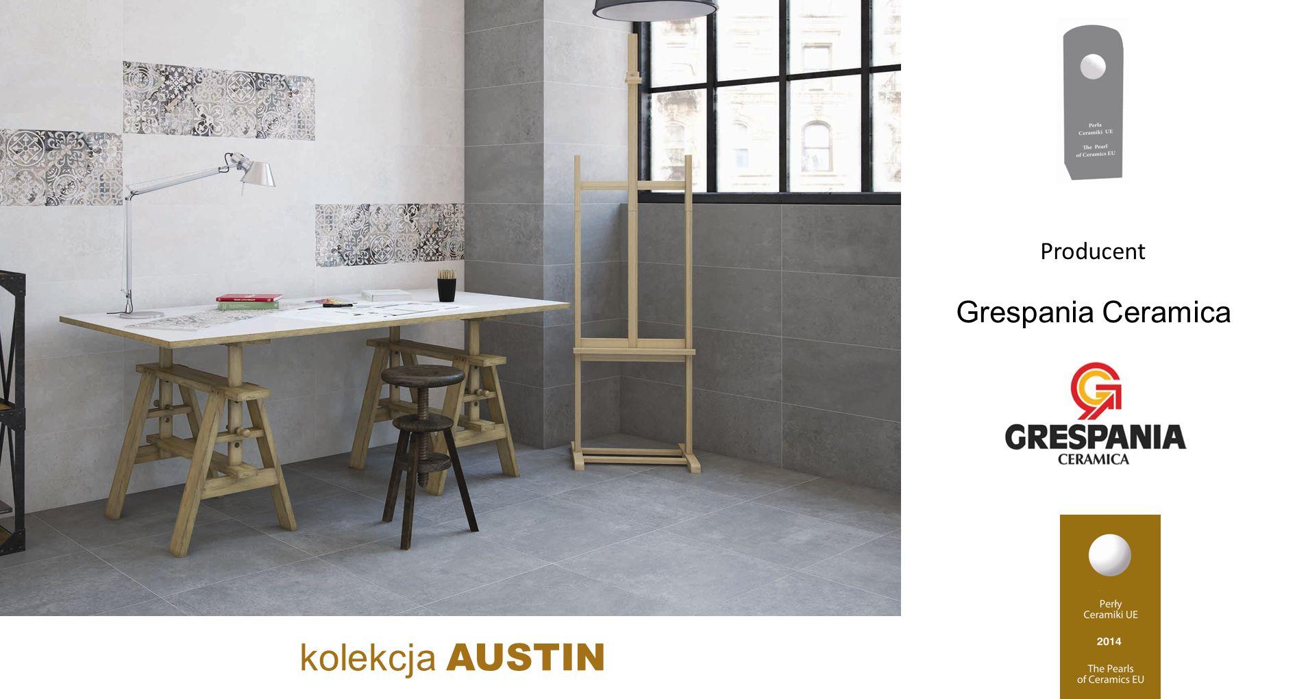 Grespania Ceramica kolekcja AUSTIN Producent