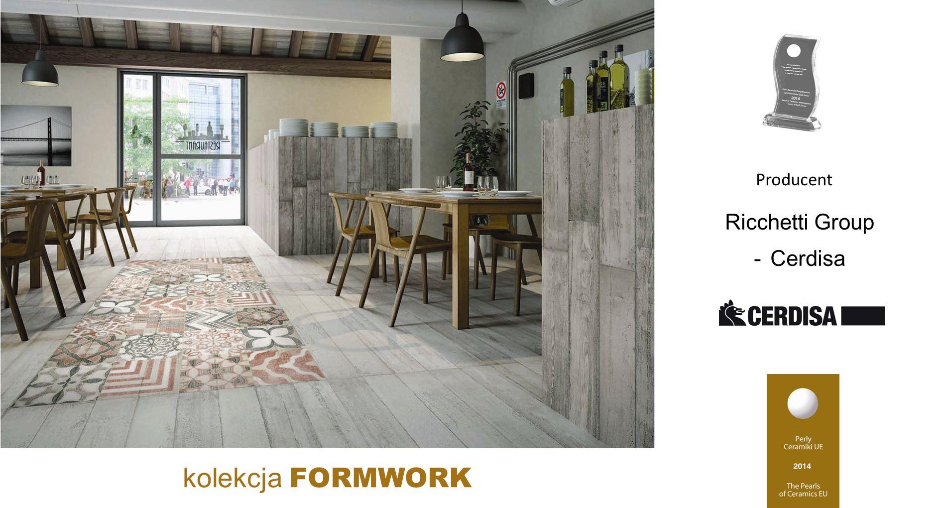 kolekcja FORMWORK Producent Ricchetti Group - Cerdisa
