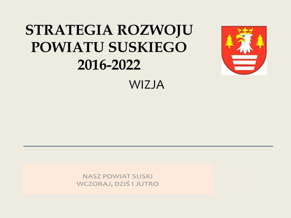 WIZJA STRATEGIA ROZWOJU POWIATU SUSKIEGO 2016-2022