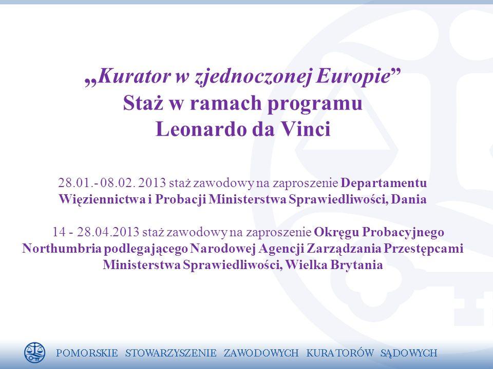 """"""" Kurator w zjednoczonej Europie Staż w ramach programu Leonardo da Vinci 28.01.- 08.02."""