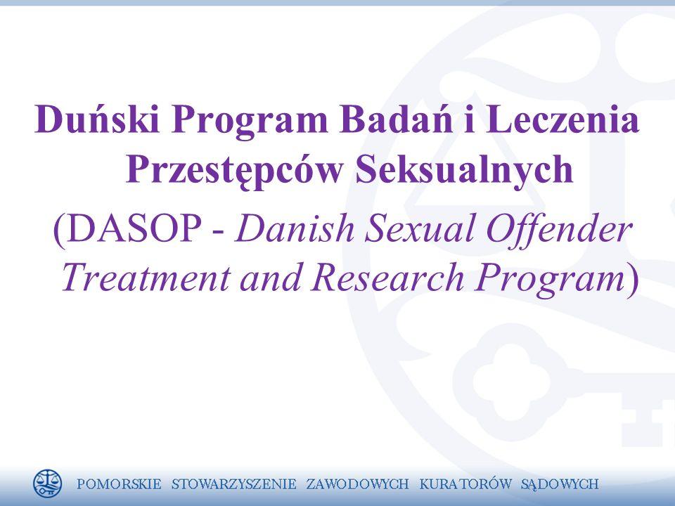 Duński Program Badań i Leczenia Przestępców Seksualnych (DASOP - Danish Sexual Offender Treatment and Research Program)