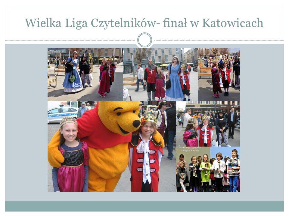 Wielka Liga Czytelników- finał w Katowicach