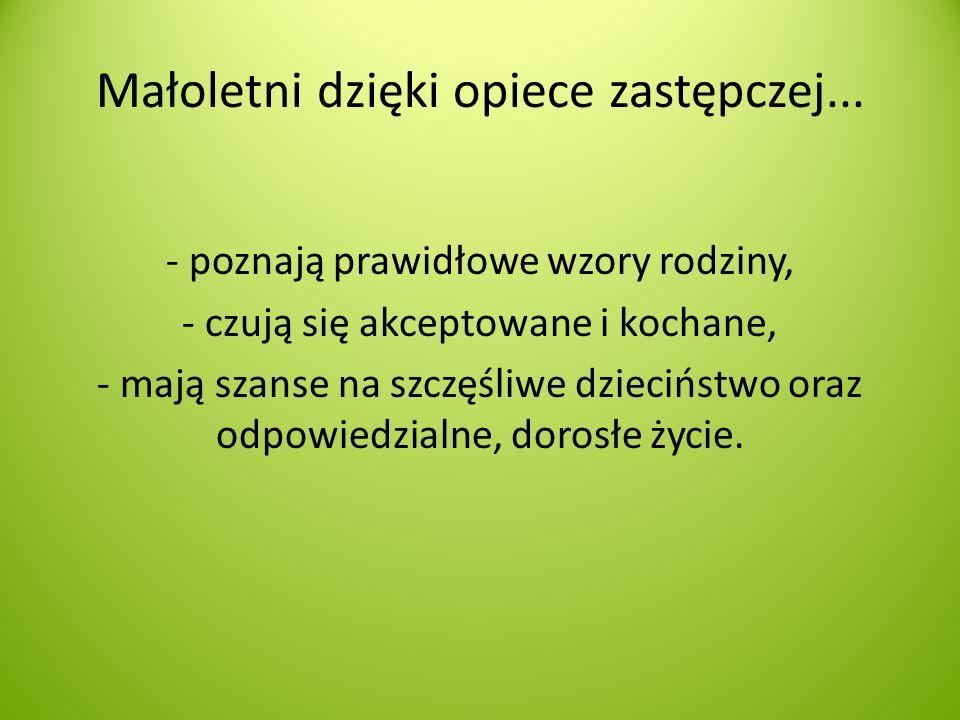 Nasze działania na rzecz rodzin zastępczych i umieszczonych w nich dzieci: 30 maja 2012 r.