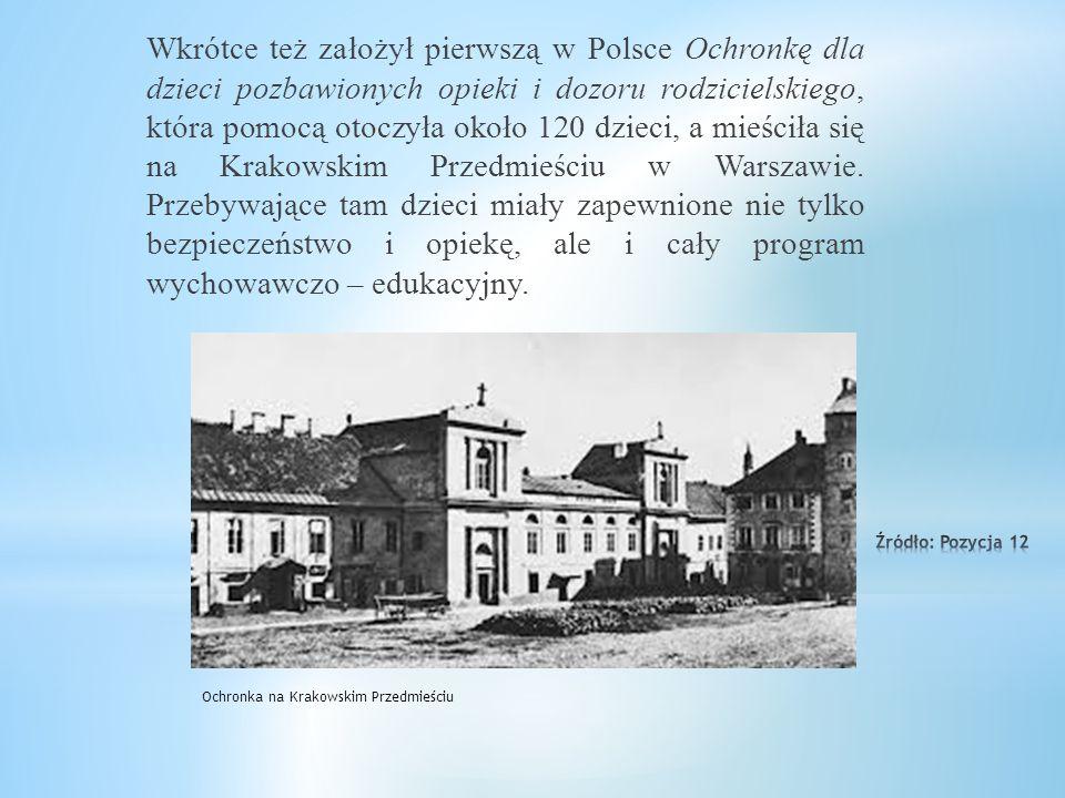 Po powrocie do Warszawy dowiedział się, że rząd carski za jego działalność patriotyczną (pisanie wierszy patriotycznych) zakazał mu wykonywania zawodu