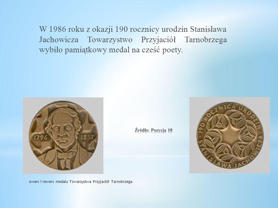 Imię Stanisława Jachowicza nosi też jedno z tarnobrzeskich przedszkoli mieszczących się przy ulicy H. Dekutowskiego. Budynek tego przedszkola zdobi ta