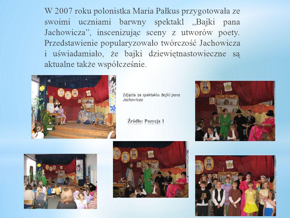 W Gimnazjum nr 1 pamięć o patronie szkoły jest wciąż żywa. Od 2008 roku Bibliotekarka Żermentyna Bartosiewicz organizuje międzyszkolny konkurs literac