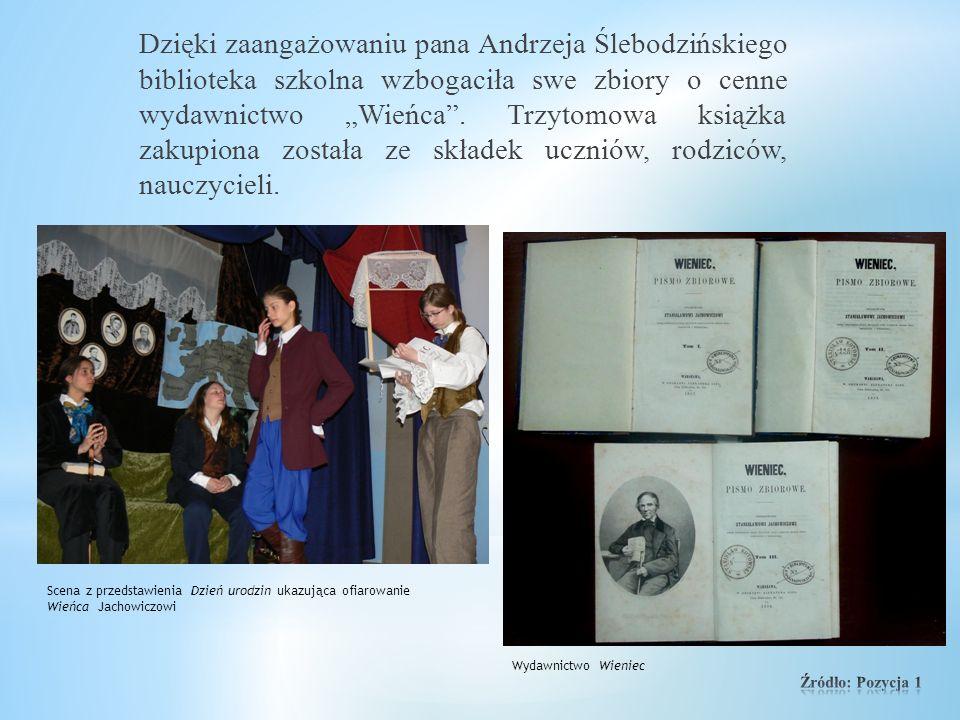 Szkole udało się nawiązać współpracę z powinowatym Jachowiczów – profesorem Andrzejem Ślebodzińskim, historykiem, jachowiczologiem z Poznania, który d