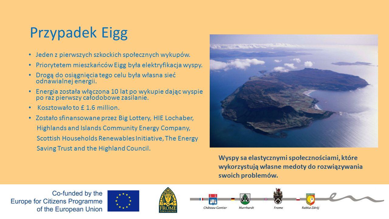 Przypadek Eigg Jeden z pierwszych szkockich społecznych wykupów.