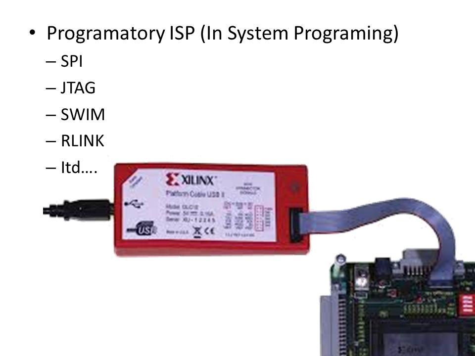 Programatory ISP (In System Programing) – SPI – JTAG – SWIM – RLINK – Itd….