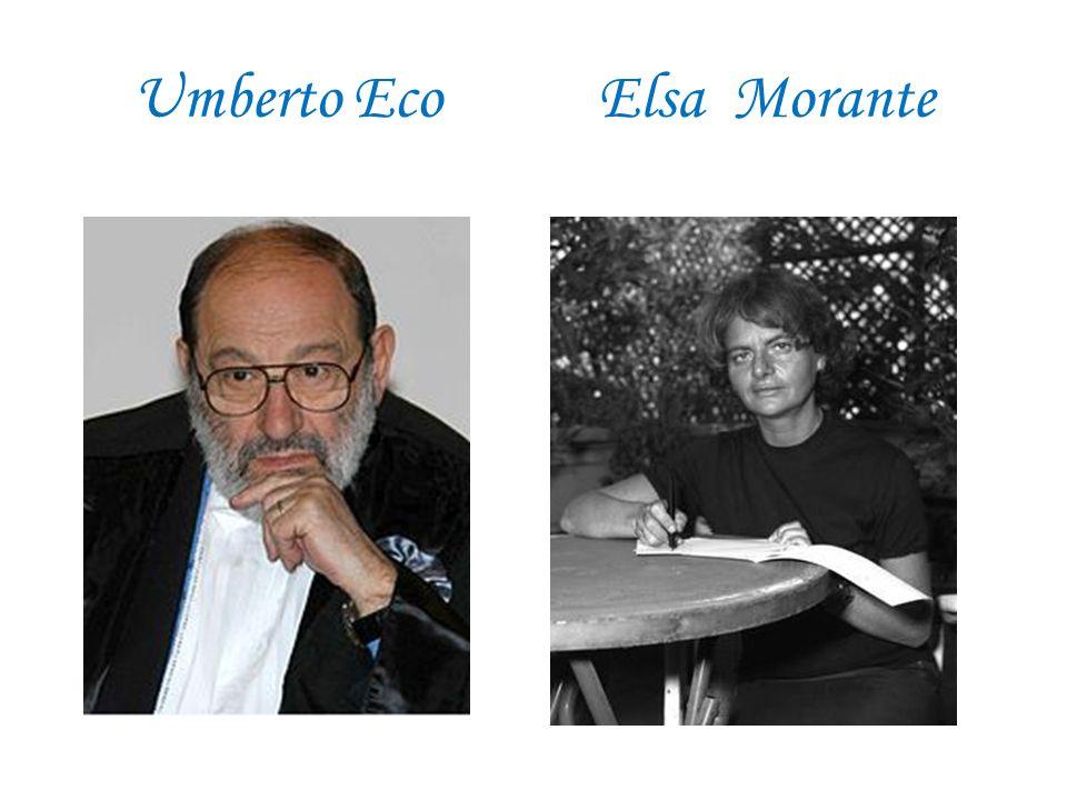 Umberto Eco Elsa Morante