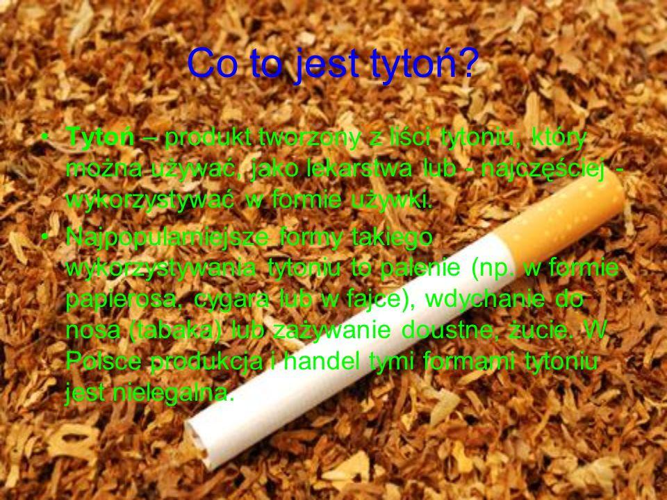 Co to jest tytoń.