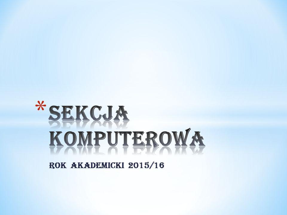 Rok akademicki 2015/16