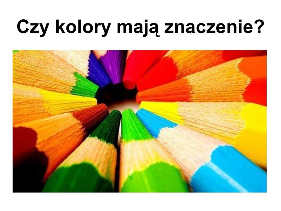 Czy kolory mają znaczenie?