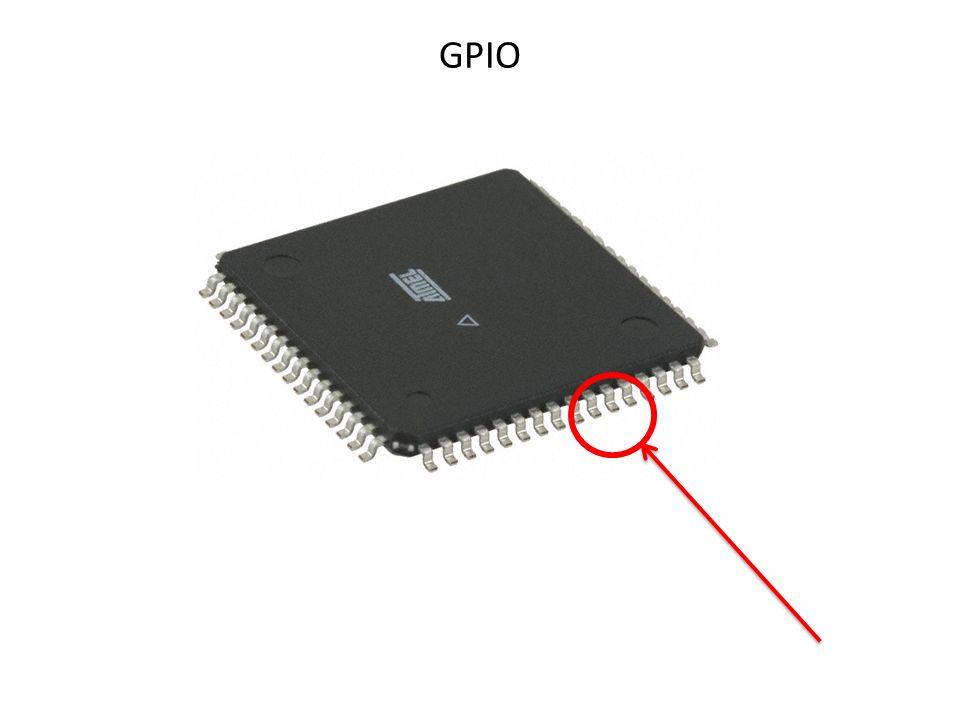 General Purpose Input / Output Jest to podstawowe peryferium służące do komunikacji MCU z układami zewnętrznymi.