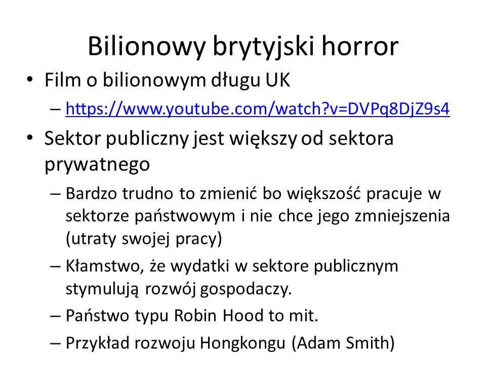 Bilionowy brytyjski horror Film o bilionowym długu UK – https://www.youtube.com/watch?v=DVPq8DjZ9s4 https://www.youtube.com/watch?v=DVPq8DjZ9s4 Sektor