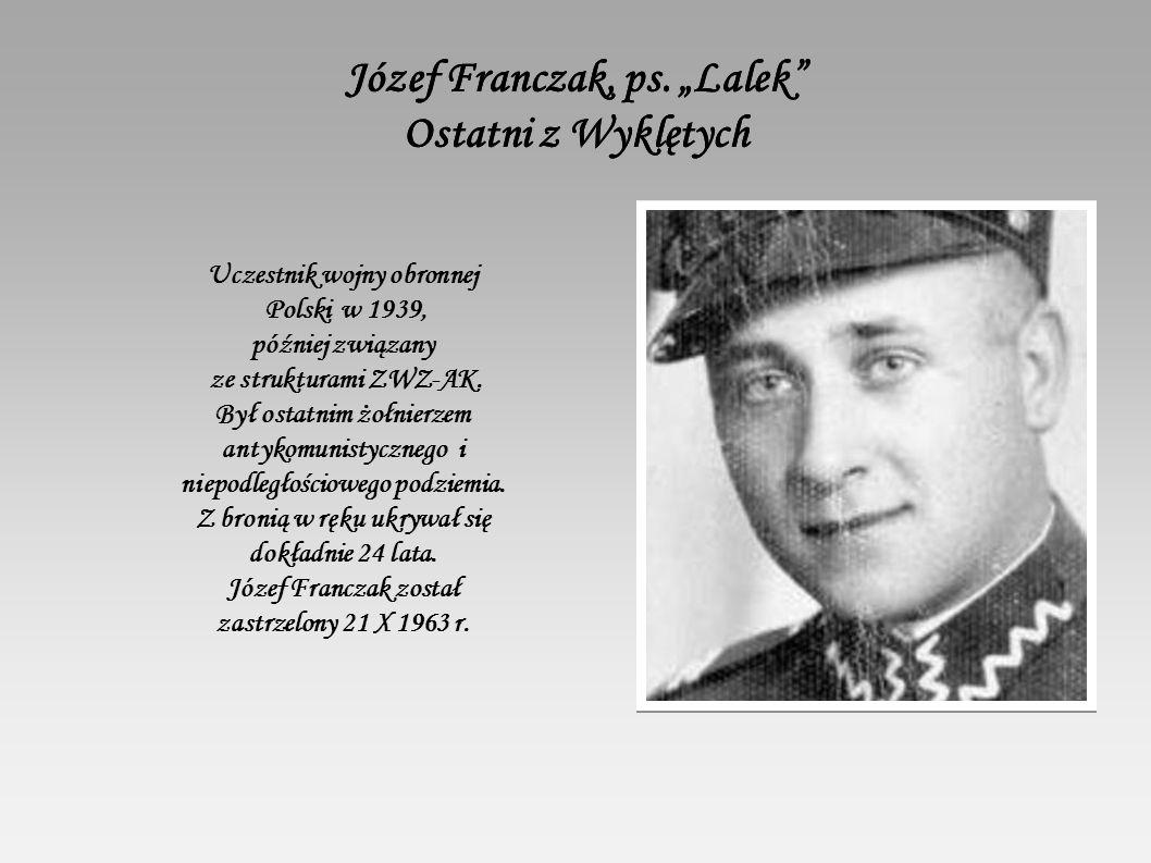 Józef Franczak, ps.