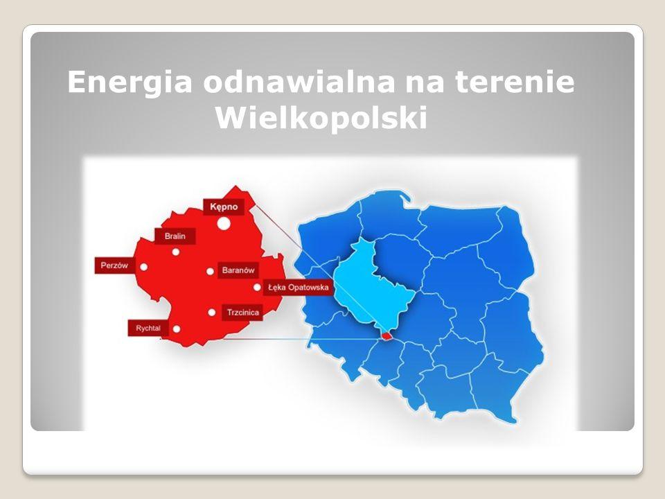 Energia odnawialna na terenie Wielkopolski