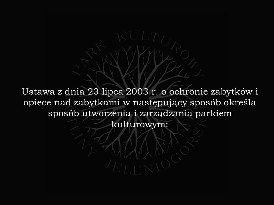 Ustawa z dnia 23 lipca 2003 r.
