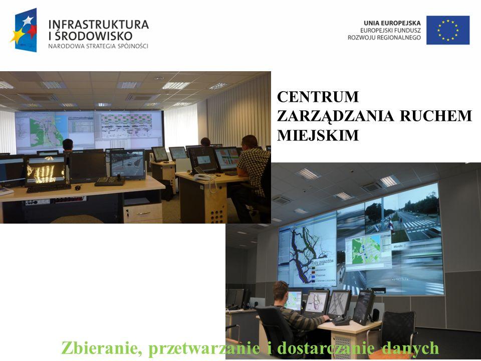 CENTRUM ZARZĄDZANIA RUCHEM MIEJSKIM Zbieranie, przetwarzanie i dostarczanie danych