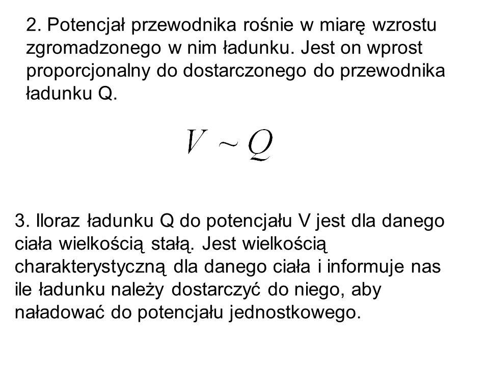 4.Pojemność elektryczna C.