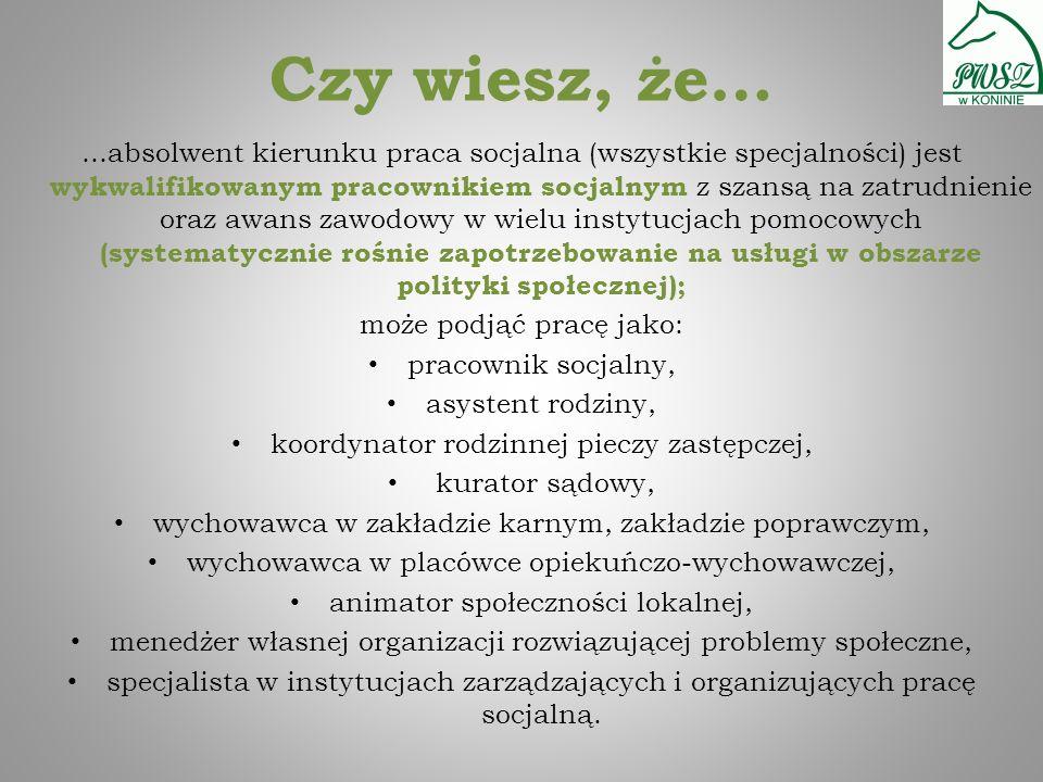 A tak wyglądał wykład z historii pracy socjalnej...