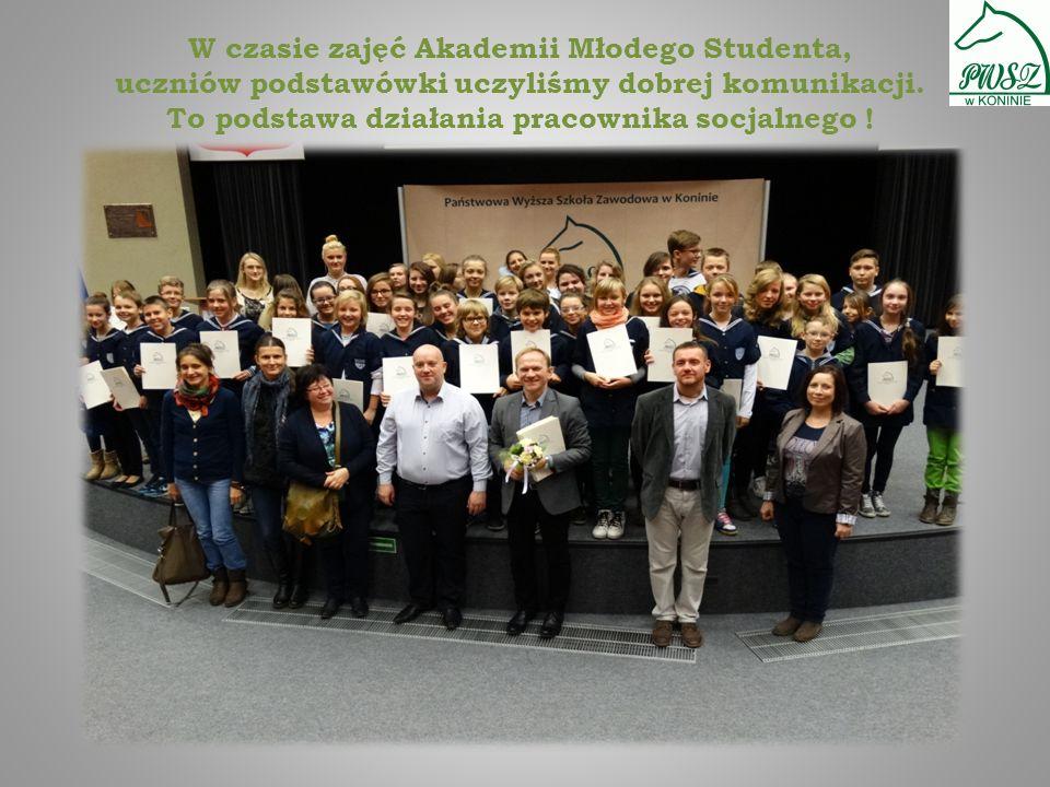 Prezentację wykonali studenci II pracy socjalnej, przyszli PRACOWNICY SOCJALNI !
