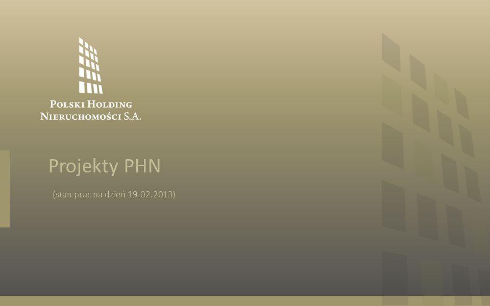 Projekty PHN (stan prac na dzień 19.02.2013)