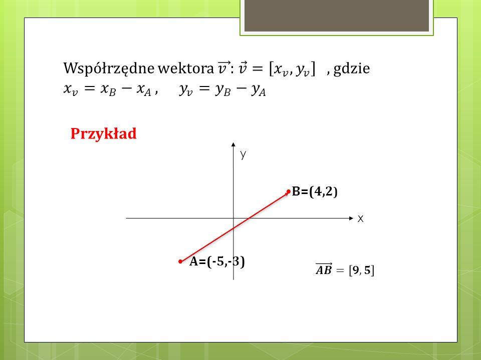 B=(4,2 ) A=(-5,-3) y x