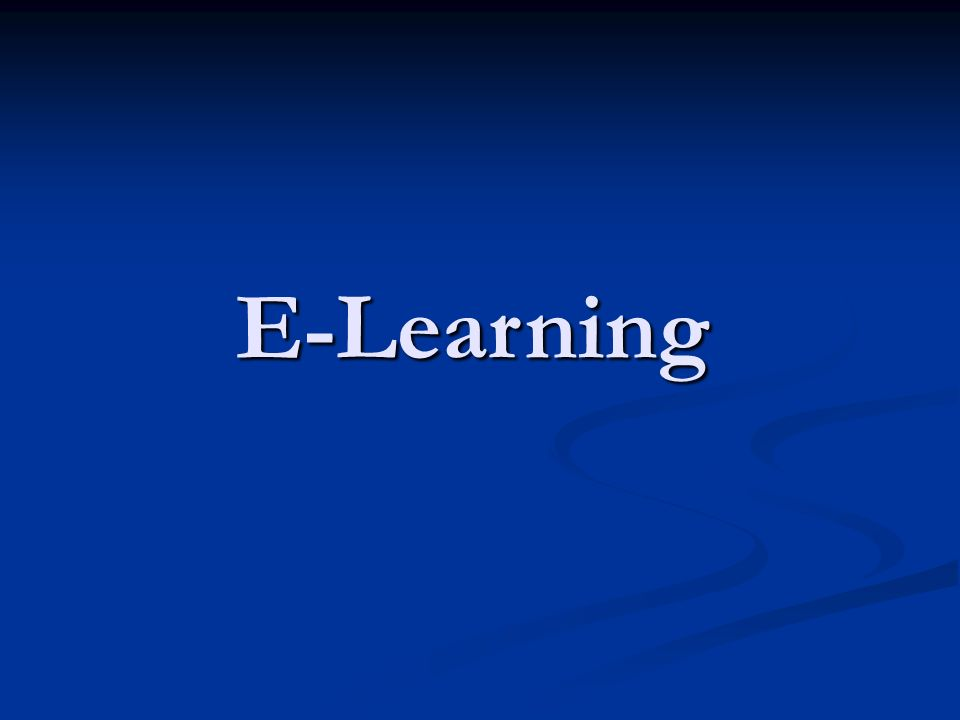 Co to jest e-learning.