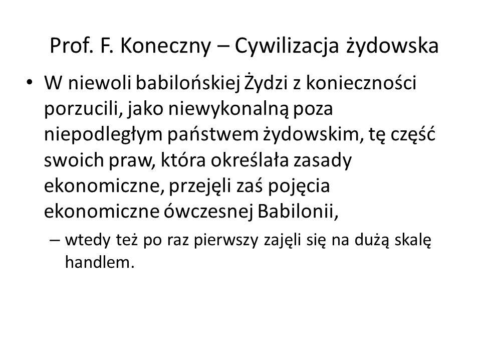Prof. F.